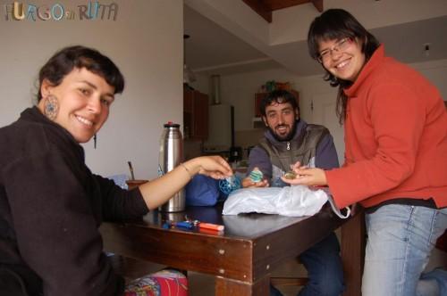 Bariloche - Con Marta y Maria de furgo en ruta