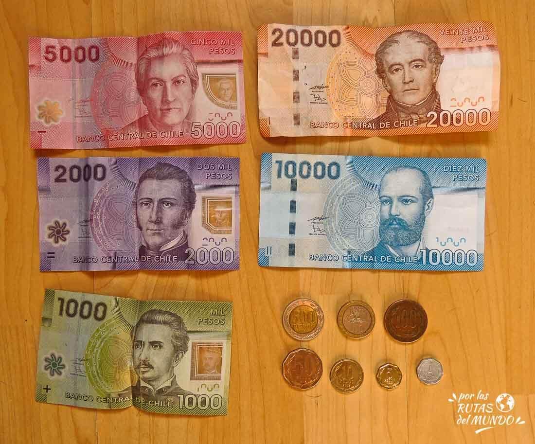 monedas billetes chile 2013 palabras y frases chilenas