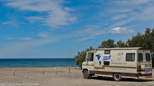 Playa El Doradillo, puerto madryn