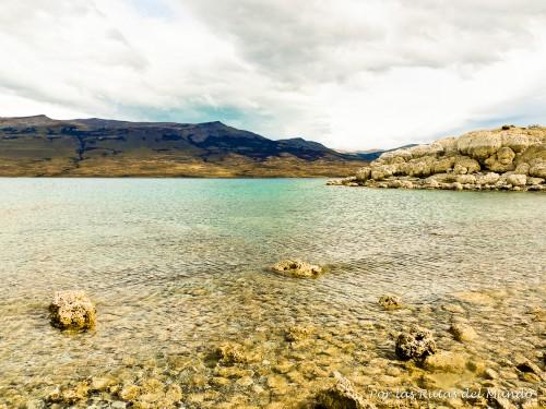 A orillas del Lago Sarmiento