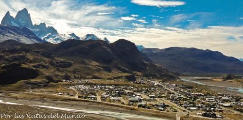Mirador de El Chalten y el Cerro Fitz Roy