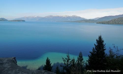 Lago Nahuel Huapi desde el Mirador Inalco
