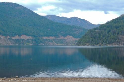 Lago Lácar. SMdA: apunten esta ciudad en mi lista de lugares para vivir.