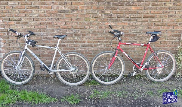 Por las Rutas del Mundo - Viajar en Bicicleta - Nuestras bicicletas