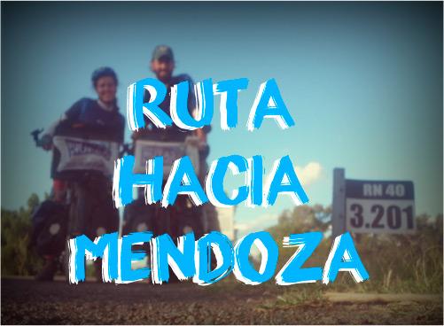 Ruta hacia Mendoza