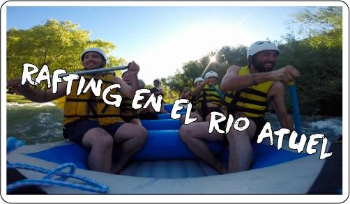 Rafting en el Rio Atuel