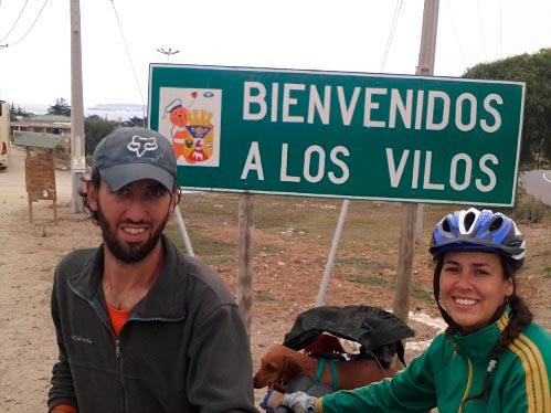 foto los vilos viaje en bicicleta