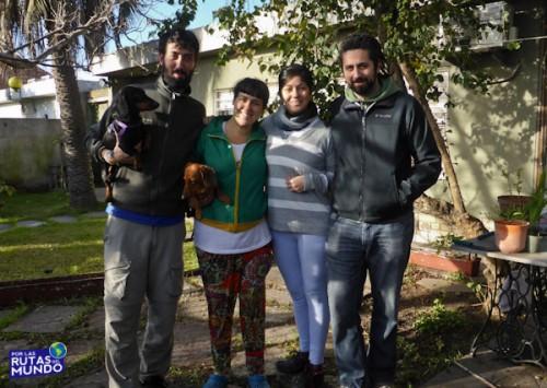 Con Lore y Alvaro en Montevideo - Que memoria la mia y por las rutas del mundo