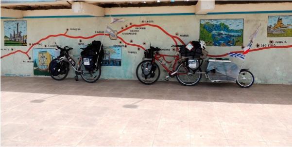 Primeros kilómetros en Brasil (donde también hace frío y llueve)