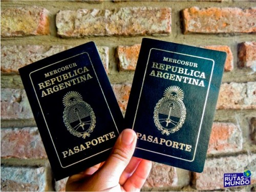 pasaportes argentinos