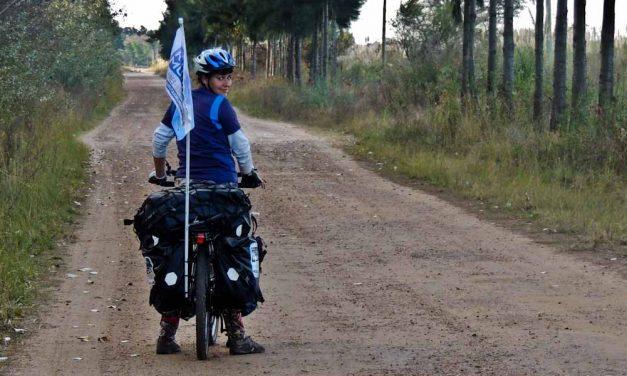 Viajar en bici me devolvió la autoestima y confianza en mí
