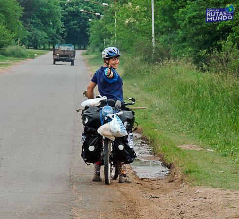 El primer día que viajé en bici
