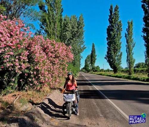 Viajar en bici por Mendoza