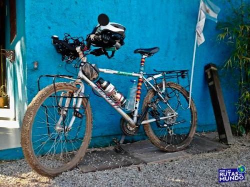 Viajar en bici - Presentación de mi bicicleta