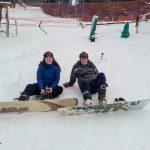 aprender snowboard ushuaia en invierno