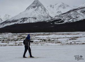 aprender esqui de fondo ushuaia en invierno