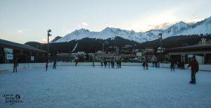 patinar sobre hielo ushuaia en invierno